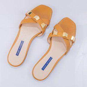 Stuart Weitzman Women's Cross Studded Sandals